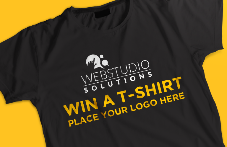 Become eligible to win a FREE T-shirt!